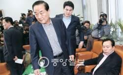'정치적 아버지' YS처럼, 승부수 던지고 낙향한 김무성