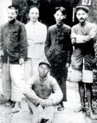[사진과 함께하는 김명호의 중국 근현대] 공산당 23세 최연소 정치국원 자리에 오른 런비스