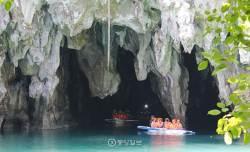 만물상 같은 지하강 종유석 탐험, 고래상어와 유영 스릴 만점