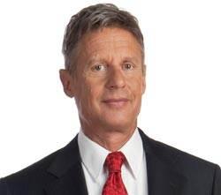 제3당 자유당 대선후보에 게리 존슨