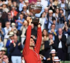 조코비치, 마침내 프랑스 오픈 우승··· 커리어 <!HS>그랜드슬램<!HE> 달성