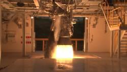 항우연, <!HS>달<!HE><!HS>탐사<!HE>용 75t 로켓엔진 시험…언론에 처음 공개