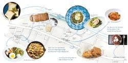 [동부이촌동 맛있는 지도] 깔끔한 일식, 독특한 디저트 … '리틀 도쿄'로 불리는 맛집 거리