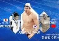 [스페셜J] 박태환-쑨양-하기노 고스케, 한중일 수영 삼국지