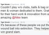 독한 팬들에게 혼쭐난 골프황제…타이거우즈 그랜드슬램 달성 언급했다가