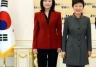 또 조윤선, 장관 두번에 여성 최초 정무수석까지