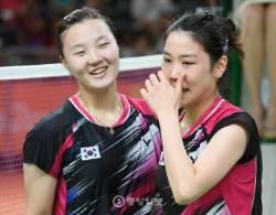 [리우포토] 정경은 신승찬, 한국 배드민턴 선수단 유일한 동메달 획득