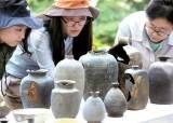 [사진] 아차산성서 출토된 고구려 토기 공개