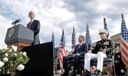 [사진] <!HS>9<!HE>·<!HS>11<!HE> <!HS>테러<!HE> 15주기…오바마, 펜타곤서 추모식
