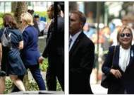 쓰러질뻔한 클린턴…대선 후보들 건강 괜찮나