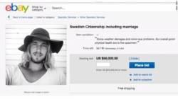 """스웨덴 男, 미국 여성 향해 """"트럼프 피해 결혼이민 오세요"""""""
