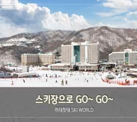 [주말 여행 어디 갈까] 스키장으로 GO~ GO~