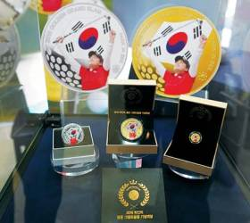 [함께하는 금융] 풍산화동양행, '박인비 골든 <!HS>그랜드슬램<!HE> 기념메달' 예약 접수