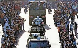 [사진] 피델 카스트로 유해 전국 순회