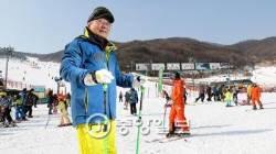60년 전 벚나무 스키 메고 산길 올라 '올림픽 눈길' 냈죠