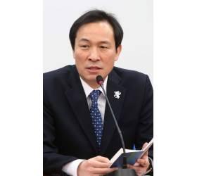 """우상호 """"한국당이라고 못 불러. <!HS>자유당<!HE>이라고 부르겠다"""""""