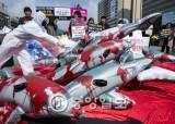 동물학대 논란 일으킨 수입 돌고래 5일 만에 폐사