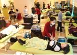 """[사진] """"사랑을 나눕니다"""" 단체 헌혈"""