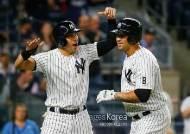 양키스, 산체스-카터 '동반 홈런'...장타력 상승 기대