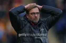 '의적풀 리버풀, 또 중하위권 팀 앞에 무릎...크리스탈 팰리스전 1-2패