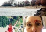 공원 화장실서 성폭행범과 맞서 싸운 여성의 '동선 기록'