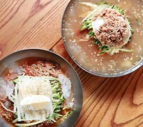 [땅이야기 맛이야기] 경남(8) 평양식 함흥식 냉면을 제대로 맛본다면, '청원분식'