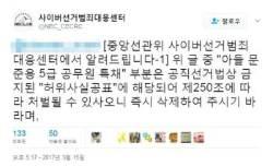 """선관위 """"'문재인 아들 특혜채용' SNS 게시물 중 허위사실 포함"""""""