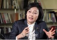 """박영선 """"문재인은 노조에 부탁해 집단 가입, 안희정은 자발적 가입"""""""