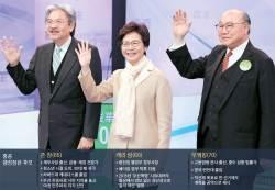 [<!HS>예영준의<!HE> <!HS>차이<!HE> <!HS>나는<!HE> <!HS>차이나<!HE>] 친중파 '철의 여인' vs 시민 지지 경제통 … 홍콩 수반 누가 되<!HS>나<!HE>