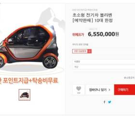 <!HS>소셜<!HE><!HS>커머스<!HE>에서 전기차 판다…초소형 전기차 얼마?