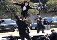 박 전 대통령 여성 경호원은 무술유단자