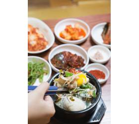 [땅이야기 맛이야기] 경남(5) 해장도 OK 보양도 OK '콩나물조개탕', 구억식당