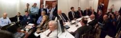 트럼프 '시리아 공습작전' 사진, 오바마 '<!HS>빈<!HE><!HS>라덴<!HE> 사살작전'과 비교해보니