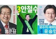 문재인 18억·홍준표 25억·안철수 1196억…대선 후보들 재산신고