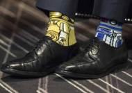 [서소문사진관] 캐나다 총리의 남다른 양말 패션