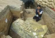 성벽 쌓을 때 인신공양 추정 … 월성서 신라인 유골 발굴