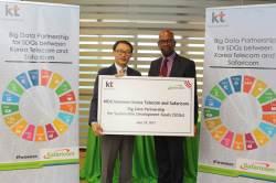 '빅데이터로 에볼라ㆍ메르스 등 전염병 막는다'...KT, 케냐 1위 이통사와 MOU 체결