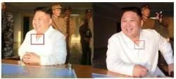 北, 김정은이 가슴에 붙인 흰색 부착물의 정체는?