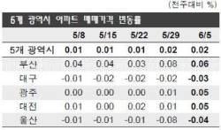 [아파트 시황] 지방 집값도 양극화 … 재개발 활발한 부산·광주·대전 강세