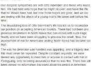 웜비어 사망으로 민간인 발길 뚝…북한여행 전문 여행사들 상품판매 중단 이어져