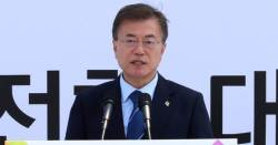 """日 정부 """"文 대통령 <!HS>후쿠시마<!HE> 사고 사망자수 언급, 사실과 달라"""" 유감 표명"""