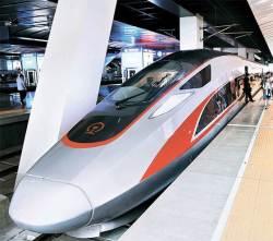 [사진] 중국 차세대 초고속열차