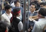 <!HS>주민<!HE>·노조원, 39.7도 폭염 속 한수원 봉쇄 … 이사회 결국 무산