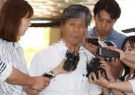 경찰 소환된 '졸음운전' 버스업체 대표가 취재진 질문공세에 보인 반응