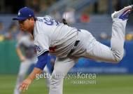 류현진, 10경기 만에 피홈런 3개…후반기 첫 패전 위기