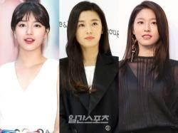 """'독보' 전지현 '대세' 수지·설현 """"2017 광고 퀸"""""""