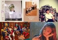 [차트IS] 경쟁 치열..아이유·BTS·젝키·윤종신·헤이즈, 음원차트 1위 나누기