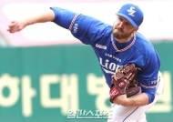 '시즌 최악투' 삼성 아델만, 넥센전 2이닝 6피안타 7실점 붕괴