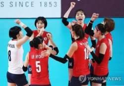 여자 배구 세계랭킹 10위→9위, 男 공동 24위