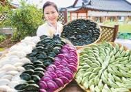 [남도의 맛&멋] 영광 특산품 모시 잎 반죽에 동부콩이 가득 … 웰빙 송편으로 '건강한 한가위'